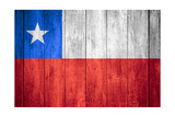 Flag Of Chile Prints by Miro Novak