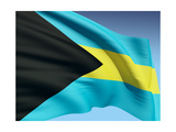 Bahamian Flag Prints by  bioraven