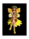 Yellow Daisy Fay Ca Print by Atelier Sommerland