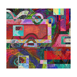 Abstract Digital Painting, Colorful Graffiti Collage Prints by Andriy Zholudyev