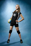 Volleyball Girl Photographic Print by Val Thoermer