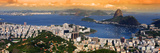 Panoramic View Of Rio De Janeiro, Brazil Landscape Photographic Print by  SNEHITDESIGN