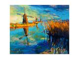 Windmills Posters by Boyan Dimitrov