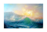 Seascape Surf Prints by  yakimenko
