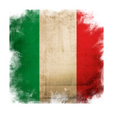Flag Of Italy Posters by  ilolab