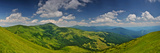 Highest Ukrainian Mountains Panorama Print by  fotosutra.com