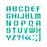 Spectral Letters Posters by  Ecelop