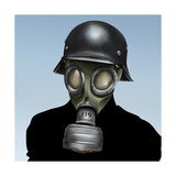 Wwii Gas Mask Prints by  anatomyofrockthe