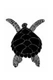 Sea Turtle Poster van  vvoevale