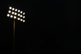 Sports Stadium Floodlights Poster by Mr Doomits