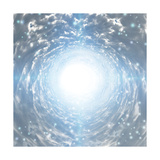 Tunnel Of Light Premium Giclee Print by  rolffimages
