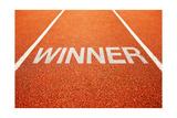 Winner Track Prints by igor stevanovic