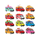 Food Truck Prints by Artisticco LLC