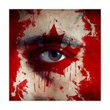 Flag On Face Art by igor stevanovic