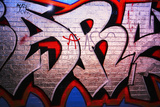 Graffiti Tag On Brick Wall Photographic Print by  sammyc