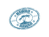 Hawaii Stamp Posters by  radubalint