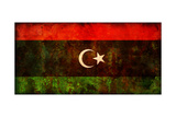 Flag Of Libya Poster af michal812