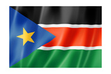 South Sudan Flag Prints by  daboost