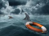 Lost At Sea Reprodukcja zdjęcia autor paul fleet