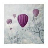 Pink Balloons Prints by  hitdelight
