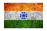 Flag Of India Print by Miro Novak