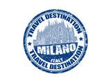 Milano Stamp Prints by  radubalint