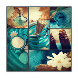 Spa Collage Prints by  mythja