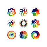 Rainbow Symbols Art by  diagon