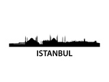 Skyline Istanbul Art by  unkreatives