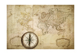 Old Map Prints by  Kuzma