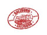 Salzburg Stamp Art by  radubalint