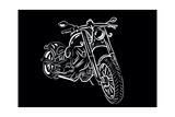 Bike Harley Affiches par  Trankvilizator