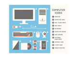 Computer Icons Posters by  kibsri