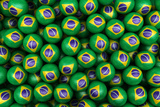 3D Rendering Of Brazilian Soccer Balls. Perfect For Background Posters by  zentilia