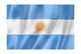 Argentinian Flag Posters by  daboost