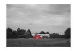 Red Barn Art by  Crofton