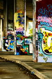 Colorful Selective Focus Graffiti Concept Print by  sammyc