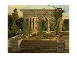 Greek Temple Poster af Atelier Sommerland