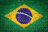 Brick Wall Brazil Photographic Print by  Tonygers