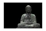 Buddha Statue Poster von  videowokart