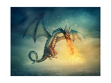 Dragon Art by  egal