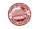 Monaco Stamp Posters by  radubalint