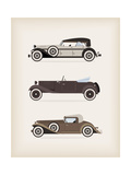Vintage Car Poster by vector pro