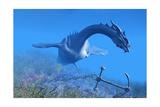 Sea Dragon 01 Kunstdrucke von Corey Ford