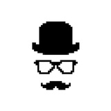 Pixel Incognito Poster by  Batareykin