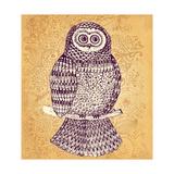 Decorative Owl Prints by Molesko Studio