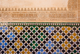 Mosaic At The Alhambra, Granada, Spain Prints by  neirfy