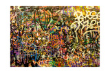 Graffiti Background Posters by NejroN Photo