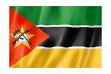 Mozambique Flag Plakater af daboost