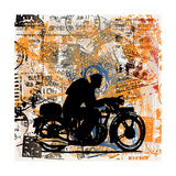 Motorcycle Travels Prints by  Petrafler